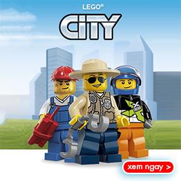 Đồ chơi LEGO City mới nhất năm 2016 tháng 8
