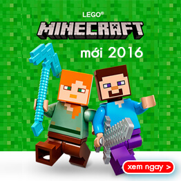 Đồ chơi LEGO Minecraft mới nhất năm 2016!