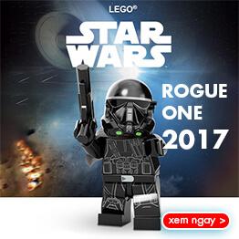 Đồ chơi LEGO Star Wars mới nhất năm 2017