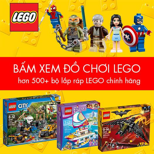 ĐỒ CHƠI LEGO KHUYẾN MÃI GIẢM GIÁ TẾT 2017