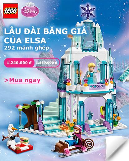 LEGO Lâu Đài Băng của Elsa LEGO 41062 Disney