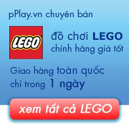 Mua Đồ chơi LEGO giá rẻ nhất ở TP HCM và Hà Nội tại pPlay.vn!