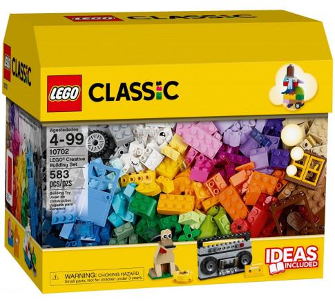 LEGO Classic 10702 - Hộp gạch LEGO Classic lớn 583 mảnh ghép (LEGO Classic Creative Building Set 10702)
