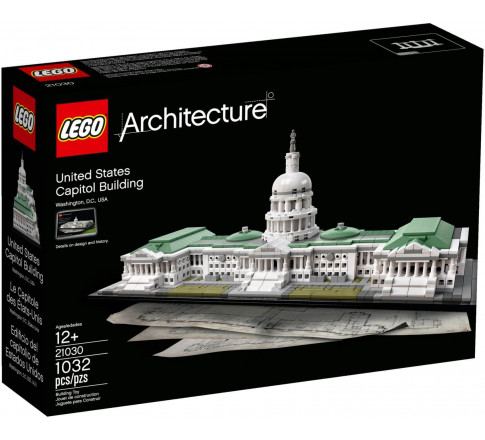 LEGO Architecture 21030 - Tòa Quốc Hội Hoa Kỳ (LEGO Architecture United States Capitol Building 21030)
