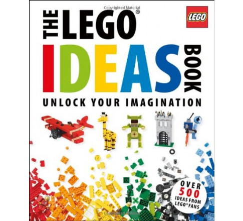 Sách LEGO: The Lego Ideas Book: Unlock Your Imagination (Mã: 5000672)