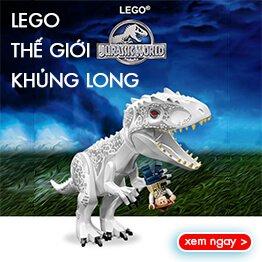Đồ chơi LEGO Khủng Long Jurassic World mới nhất năm 2018!