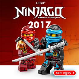 Đồ chơi LEGO Nexo Knights mới nhất năm 2016 tháng 8