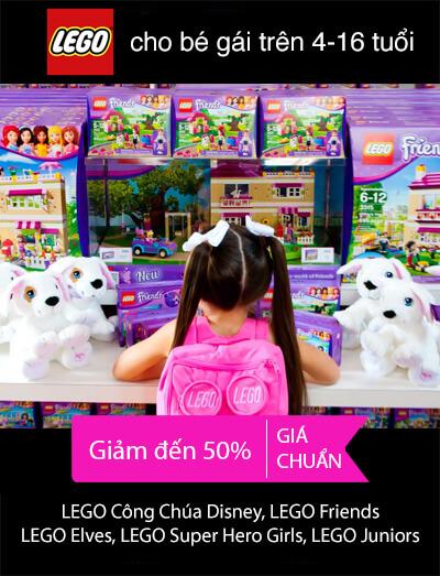 Đồ chơi LEGO Con Gái giá rẻ nhất tại pPlay.vn