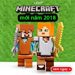 Đồ chơi LEGO Minecraft mới năm 2018 rẻ nhất Việt Nam tại pPlay.vn