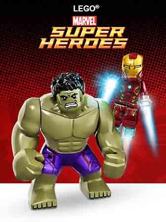 Đồ chơi LEGO Super Heroes Marvel hot nhất