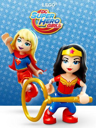 LEGO Super Hero Girls (mới 2017)