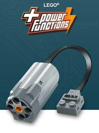 LEGO Power Functions - Động Cơ Điện LEGO