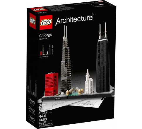LEGO Architecture 21033 - Thành Phố Chicago (LEGO 21033 Chicago)