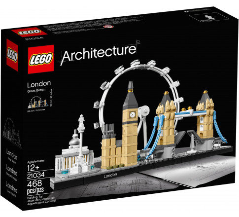 LEGO Architecture 21034 - Thành Phố London (LEGO 21034 London)